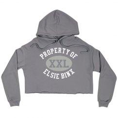 EBX Property Crop Hoodie