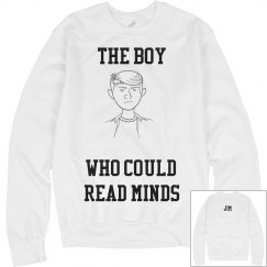 Boy Who Could Read Minds Crewneck