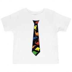 Dinosaur Tie T-Shirt