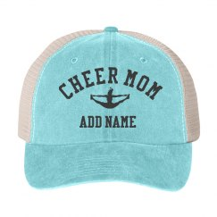 Custom Cheer Mom Fan