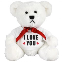 I Love You Valentine's Day Bear