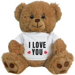 I Love You Valentine's Day Bear