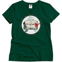 Literary Lushes Christmas Edition Basic T-shirt