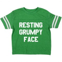 Resting Grumpy Face Funny Toddler