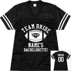 Team Bride Jersey - BMaid