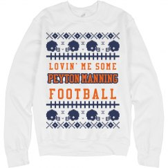 Mrs Peyton Manning Ugly Sweater