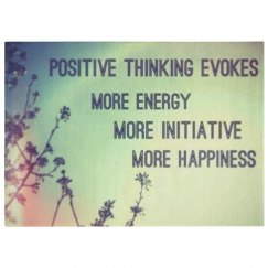 Positive thinking evokes more happiness