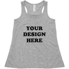 Girls' Custom Fashion Tank Design