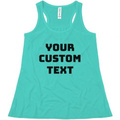 Create Your Own Design Girls Tank