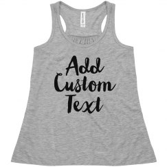 Personalized Tank For Little Girls