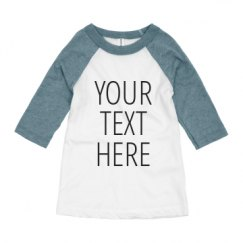 Youth 3/4 Sleeve Raglan Tee