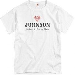 Johnson authentic shirt
