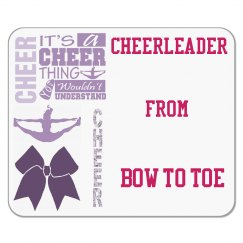 Cheerleader Mouse Pad