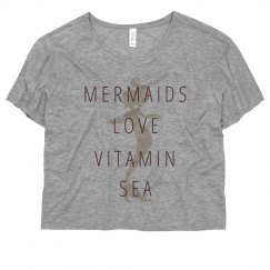 Mermaids Love Vitamin Sea Neon