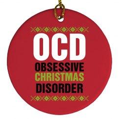 OCD Xmas Ornament