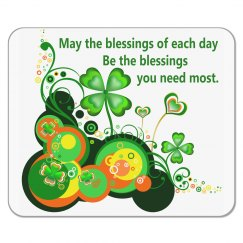 Irish Blessing, mousepad