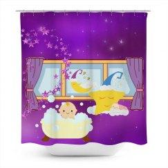 Baby Bubble Bath Purple Moon & Stars