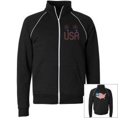 USA Fleece Jacket
