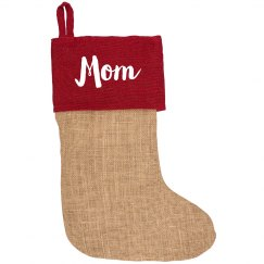 Add Your Name Christmas Stocking