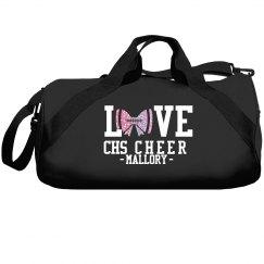 LOVE FOOTBALL BAG