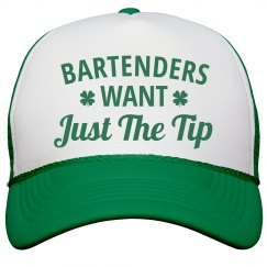 Bartenders Want Just The Tip Hat