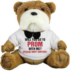 Ask Her To Prom Dog Promposal