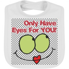 Eyes for you bib