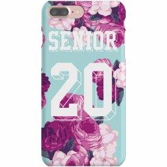 Floral Seniors Phone Case