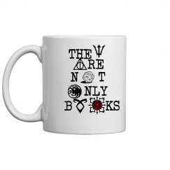 They are not only books mug