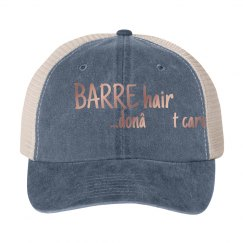 Barre Hair...don't care