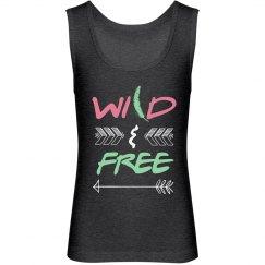 Wild & Free Girls Tank
