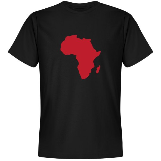Africa Tee- Red