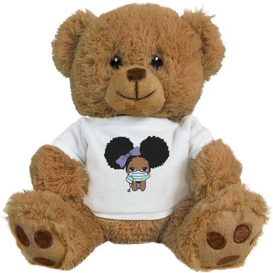 Afro Puff Teddy