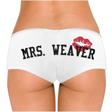 After Wedding Mrs. Weaver
