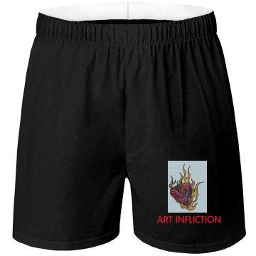 A.I. Black Boxer Shorts 2
