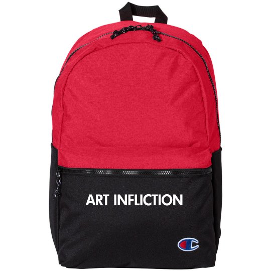 A.I. R&B 21L Script Backpack, presented by Champion