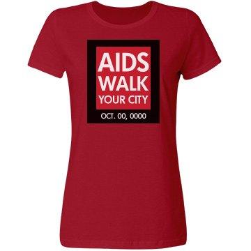 AIDS Awareness Walk Logo