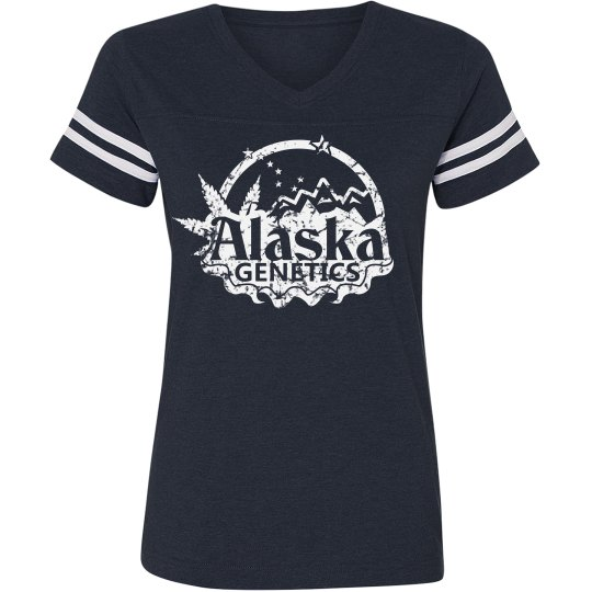 AKG White Logo Ladies T