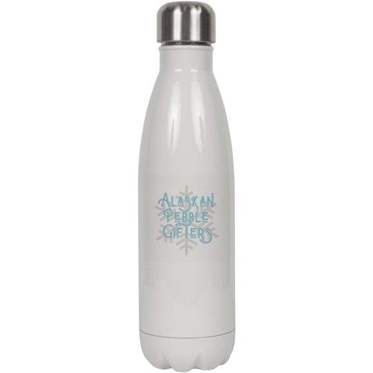 Alaskan Pebble Gifters Water Bottle