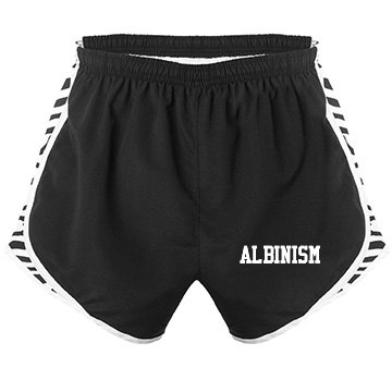 Albinism- Women's Sport Shorts