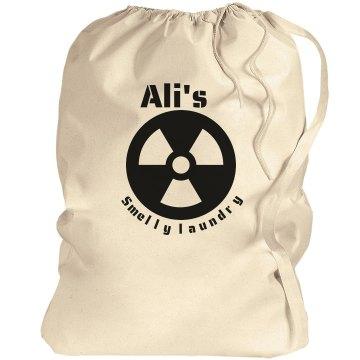 Ali's smelly laundry