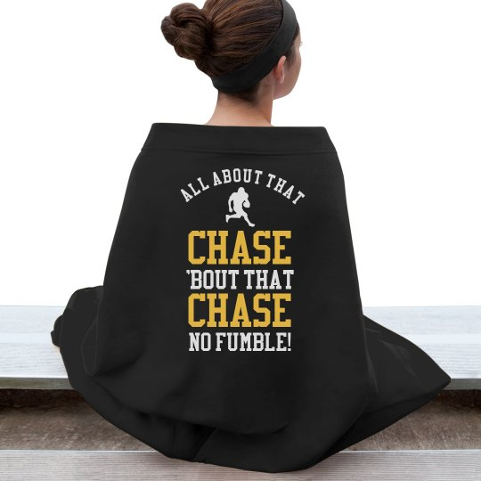 All About That Chase Football Girlfriend Blanket