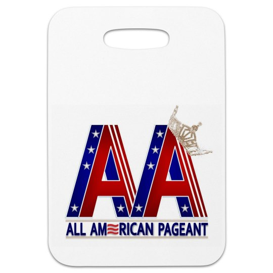 All American Pageant Luggage Tag