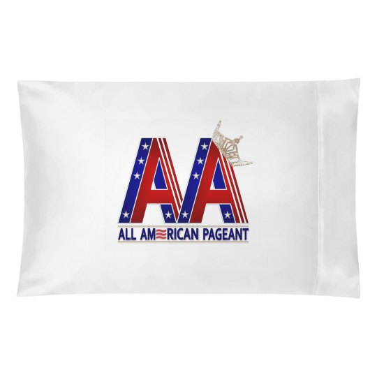 All American Pageant Pillowcase