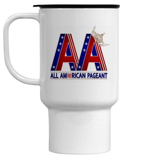 All American Pageant Travel Mug
