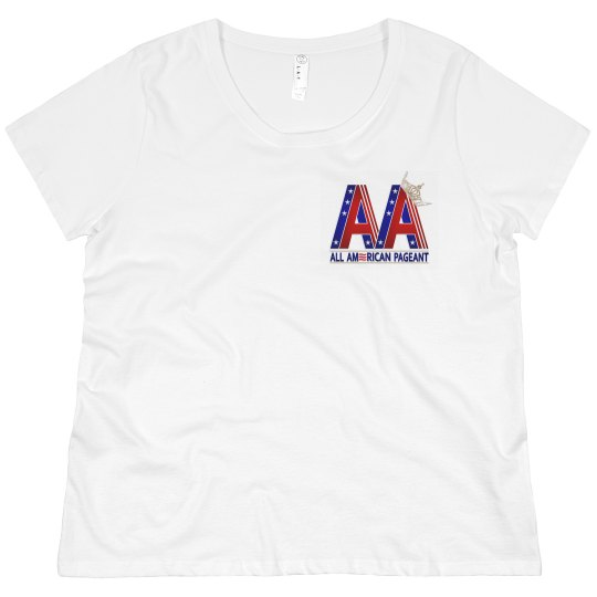 All American Pageants Plus Size Shirt