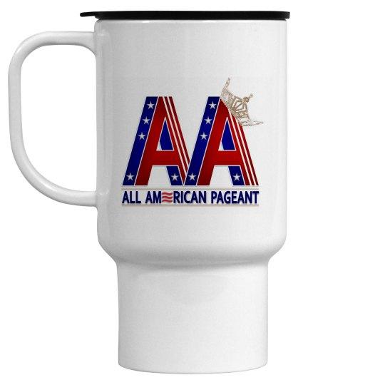 All American Pageants Travel Mug