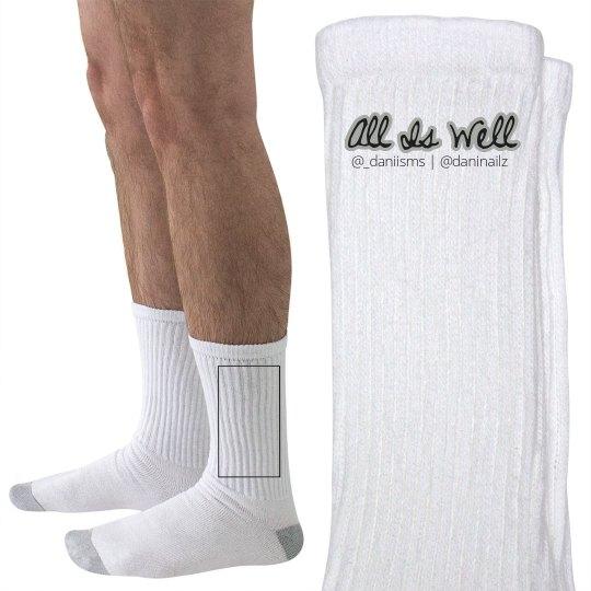 All Is Well Men's Socks