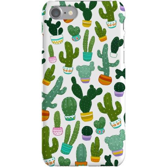 All Over Cactus Succulent Case