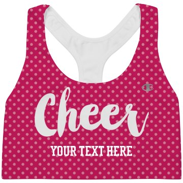 All Over Print Polka Dot Cheer